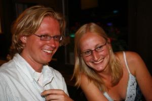 Xander van Vliet and Marije Ploemacher